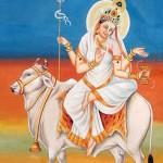 Durga Mahagauri